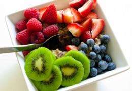 As frutas frescas com mais calorias